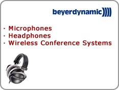 Beyerdynamic - Microphones, Headphones, Wireless Conference Systems