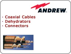 Andrew - Coaxial Cables, Dehydrators, Connectors