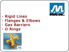 Myat - Rigid Lines, Flanges & Elbows, Gas Barriers, O Rings