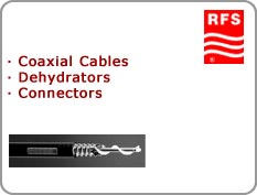 RFS - Coaxial Cables, Dehydrators, Connectors